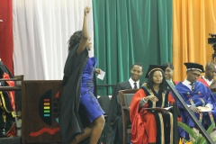 A proud moment for College of Law and Management graduate