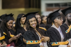 All smiles at graduation