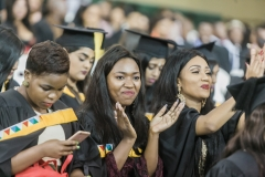 Excitement was in the air at graduation