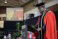 College of Law and Management Studies DVC and Head of College Professor Nana Poku