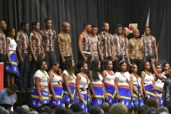 The UKZN choir did not disappoint, they gave a stellar performance