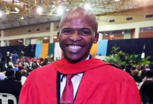 UKZN Academic Dr Bhasela Yalezo graduated with a doctoral degree in Business Administration.