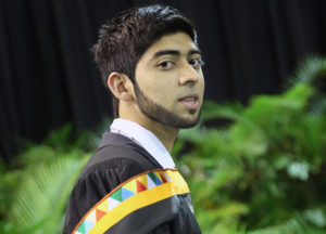 Mr Ahmed Ally graduated with a distinction for his Postgraduate Diploma in Accounting.