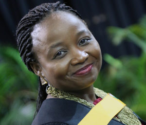 Dr Ntsapokazi Deppa earned herself a cum laude for her MBA degree.