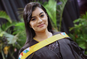 Ms Taruna Chetty graduated with a Masters degree in Economics.