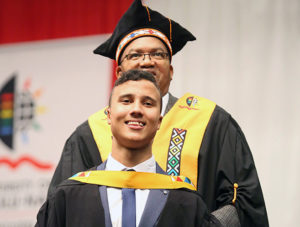 BCom Accounting summa cum laude graduate, Mr Dean Adams.