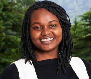 Ms Linet Kimathi graduated with a Bachelor of Commerce Honours in Economics.