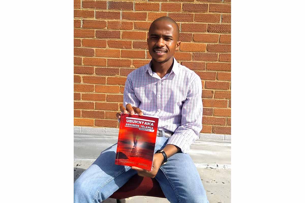 BCom graduate, author and publisher seeks to give voice to the voiceless