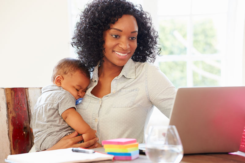 Working Women: The Positive Effects of COVID-19 on Working Mothers